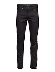 Damien Black Stretch Denim - BLACK