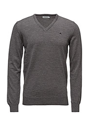 Lymann True Merino Knit - Grey Melange