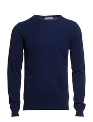 C-Neck Kashmerino - Navy