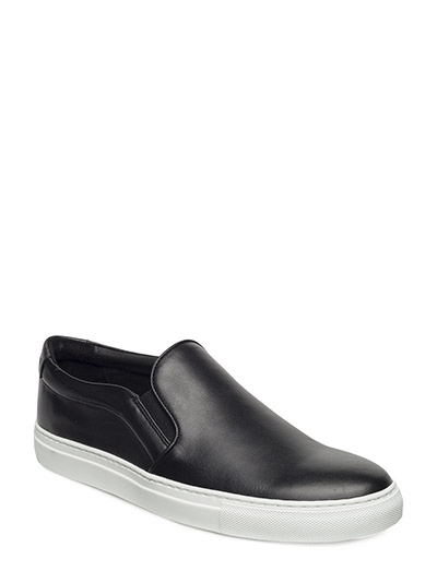 Slip-On Sneaker Combo Leather