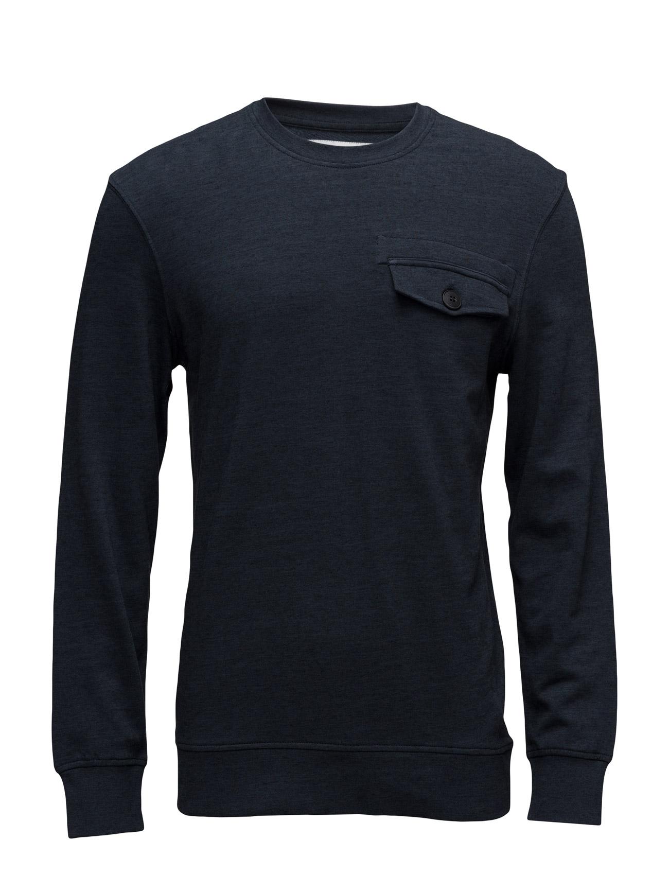 Jcoc90 Sweat Crew Neck Jack & Jones Core Sweat pants til Mænd i Navy Blazer