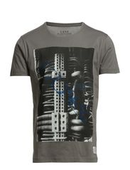 MACHINE TEE S/S CORE 1-2-3 2014 - DNA - Pewter