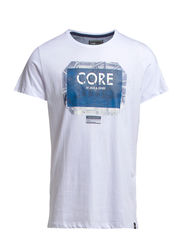 DEPTH TEE S/S CORE 4-5-6 2014 - White