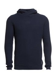 MOISES KNIT HOOD NOOS - Dress Blues