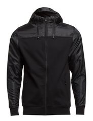 LINE SWEAT ZIP HOOD CORE 7-8-9 2014 DNA - Black