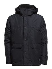 HALE SHORT PARKA JACKET - Black Navy