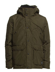 HALE SHORT PARKA JACKET - Forest Night