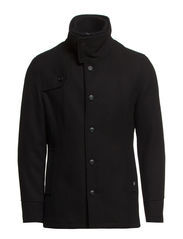 TIN WOOL JACKET - Black