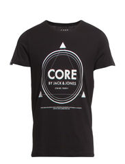 NET TEE SS CREW NECK CORE TTT - Black