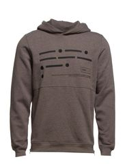 WEB SWEAT HOOD 7-8-9 2014 CORE - Grey Melange