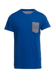 NOLT TEE SS CREW NECK CORE - True Blue