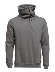 FROST SWEAT HIGH NECK CORE 7-8-9-2014 - Grey Melange