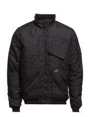 ION BOMBER JACKET - Black