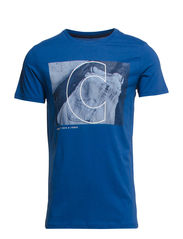 URBAN TEE SS CREW NECK - True Blue