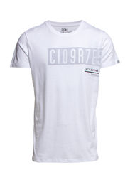 JJCOHERB TEE CREW NECK - White