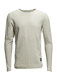 jjcoOCEAN KNIT CREW NECK - Treated White