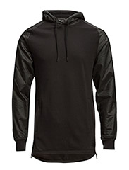 jjcoNEWEY SWEAT HOOD - Black