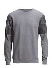 JJCOINTRO SWEAT CREW NECK - Light Grey Melange