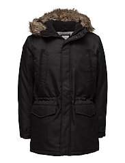 JCOLAND PARKA JACKET CAMP - BLACK