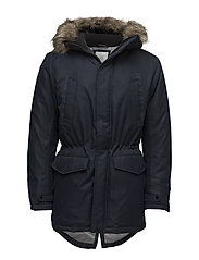 JCOLAND PARKA JACKET CAMP - SKY CAPTAIN