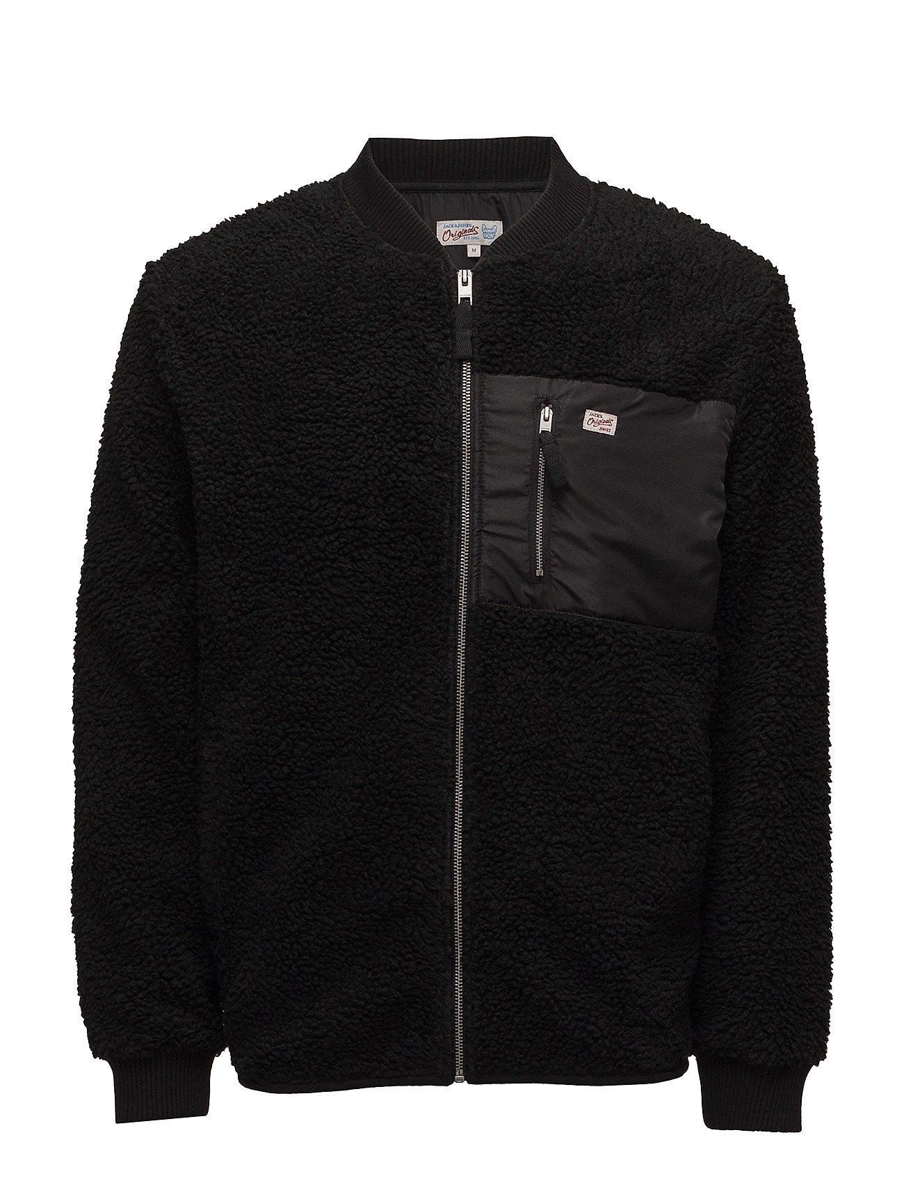 jack & jones original – Jorsnow sweat zip baseball på boozt.com dk