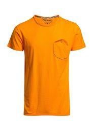 NORMAN TEE S/S ORG 7-8-9 2013 DNA - Flame Orange