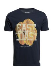 BARBECUE TEE S/S ORG 1-2-3 2014 - Dress Blues