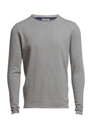 BEAR O-NECK 4-5-6 14 ORIG - DNA - Light Grey Melange