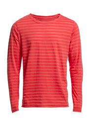 TREVOR TEE L/S ORG 4-5-6 2014 - Spiced Coral