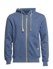 STORM SWEAT ZIP HOOD COLOR - NOOS - Coronet Blue