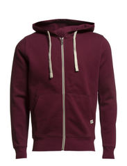 STORM SWEAT ZIP HOOD COLOR - NOOS - Fig