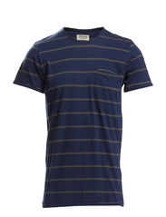 SUTTON TEE SS CREW NECK ORIG - Dress Blues