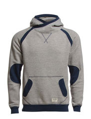 SAXO SWEAT HOOD 7-8-9 2014 ORG - Grey Melange