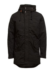 FIRE PARKA JACKET - Black