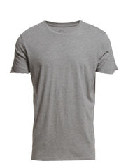 OPEN TEE S/S ORG PB 7-12 2014 - Light Grey Melange