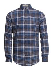 LOSS SHIRT ONE POCKET  L/S - Coronet Blue
