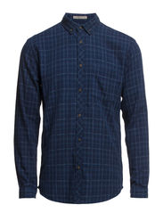 JABB  SHIRT ONE POCKET  L/S TTT - Dress Blues