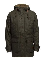 COUNTRY PARKA JACKET - Forest Night