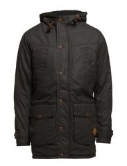 COUNTRY PARKA JACKET - Pirate Black