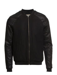 JAMES BOMBER JACKET - Black