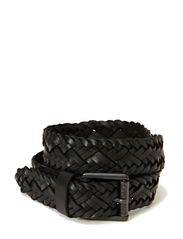BREAS LEATHER BELT - Black
