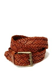 BREAS LEATHER BELT - Mocha Bisque