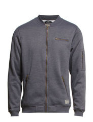 TAKEABOVE SWEAT ZIP BASEBAL 7-8-9 14 - Grey Melange