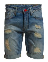 RICK ORG SHORTS SC 527 EX 4-5-6 14 - Medium Blue Denim