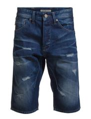 TRISTAN LONG SHORTS SC 528 EX 4-5-6 14 - Medium Blue Denim