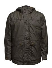 DATE SHORT PARKA JACKET - Forest Night