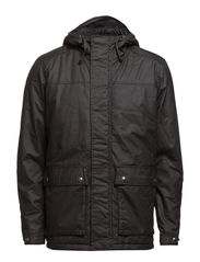 DATE SHORT PARKA JACKET - Pirate Black
