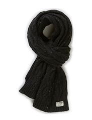 DOT KNIT SCARF ORG 7-8-9 2014 - Black