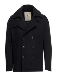 FROST WOOL JACKET - Black Navy
