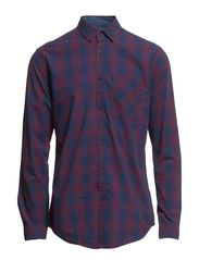 WOODSON SHIRT ONE POCKET  L/S - Fig
